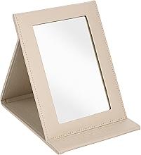Parfémy, Parfumerie, kosmetika Stolní kosmetické zrcadlo, béžové - MakeUp Tabletop Cosmetic Mirror Beige