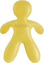 Parfémy, Parfumerie, kosmetika Mr&Mrs Fragrance Cesare Yellow Vanilla - Vůně do auta