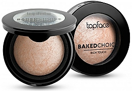 Parfémy, Parfumerie, kosmetika Zapečený rozjasňovač - Topface Baked Choice Rich Touch Highlighter