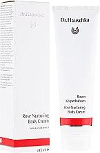 Parfémy, Parfumerie, kosmetika Tělový krém výživný - Dr. Hauschka Rose Nurturing Body Cream