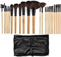 Parfémy, Parfumerie, kosmetika Sada profesionálních make-up štětců, 24ks - Tools For Beauty