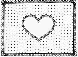 Parfémy, Parfumerie, kosmetika Silikonová podložka Srdce - Elisium