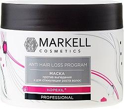 Parfémy, Parfumerie, kosmetika Maska proti vypadávání vlasů a stimulaci růstu vlasů - Markell Cosmetics Anti Hair Loss