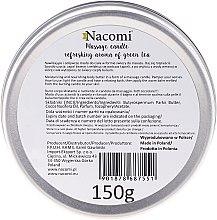Svíčka s tělovým olejem - Nacomi Shea Butter Massage Candle — foto N3