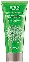 Parfémy, Parfumerie, kosmetika Peeling na nohy - Artdeco Senses Asian Spa Deep Relaxation Deep Exfoliating Foot Scrub