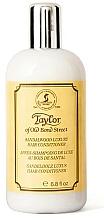 Parfémy, Parfumerie, kosmetika Taylor of Old Bond Street Sandalwood Luxury Hair Conditioner - Kondicionér na vlasy