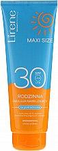 Parfémy, Parfumerie, kosmetika Opalovací emulze - Lirene Sun Care Moisturizing Emulsion SPF30