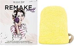 "Parfémy, Parfumerie, kosmetika Odličovací rukavice, žlutá ""ReMake"" - MakeUp"