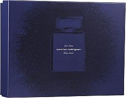 Parfémy, Parfumerie, kosmetika Narciso Rodriguez for Him Bleu Noir - Sada (edp 100 ml + edp 10 ml + sh/gel 75 ml)