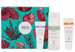 Parfémy, Parfumerie, kosmetika Sada - REN Face Favourites Gift Set (f/mask/15ml + f/cre/50ml + serum/10ml)