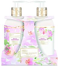 Parfémy, Parfumerie, kosmetika Sada - Baylis & Harding Royal Bouquet Rose & Honeysuckle (b/lot/300ml + soap/300ml)
