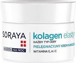 Parfémy, Parfumerie, kosmetika Hydratační krém na den a noc - Soraya Kolagen i Elastyna Moisturizing Cream
