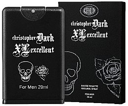 Parfémy, Parfumerie, kosmetika Christopher Dark Men XL Excellent - Toaletní voda