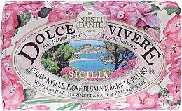 """Parfémy, Parfumerie, kosmetika Mýdlo """"Sicílie"""" - Nesti Dante Dolce Vivere Sicilia"""