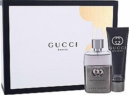 Parfémy, Parfumerie, kosmetika Gucci Guilty Pour Homme - Sada (edt/50ml + sh/gel/50ml)