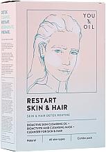 Parfémy, Parfumerie, kosmetika Terapie pro vlasy a pleť - Restart Skin & Hair. 3 in 1 Bundle