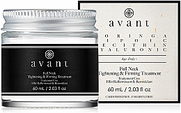 Parfémy, Parfumerie, kosmetika Zpevňující krém na krk - Avant Skincare Full Neck Tightening and Firming Treatment