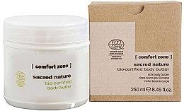 Parfémy, Parfumerie, kosmetika Výživné krém- máslo pro tělo - Comfort Zone Sacred Nature Bio-Certified Body Butter