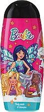 """Parfémy, Parfumerie, kosmetika Šampon a sprchový gel 2v1 """"Barbie You Can Be A Dreamer"""" - Uroda For Kids Shampoo & Shower Gel"""