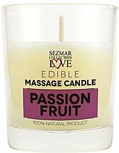 Parfémy, Parfumerie, kosmetika Přírodní masážní svíčka Marakuja - Sezmar Collection Passion Fruit