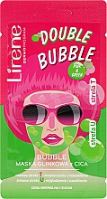 Parfémy, Parfumerie, kosmetika Bublinková jílová maska na obličej - Lirene Double Bubble Cica Mask