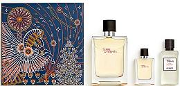 Parfémy, Parfumerie, kosmetika Hermes Terre d'Hermes - Sada (edt/100ml + edt/12.5ml + ash/balm/40ml)