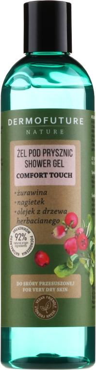 Sprchový gel pro suchou pokožku - Dermofuture Nature Shower Gel Comfort Touch