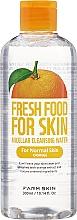 Parfémy, Parfumerie, kosmetika Micelární voda pro normální pleť - Superfood For Skin Micellar Cleansing Water Orange