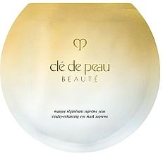 Parfémy, Parfumerie, kosmetika Regenerační oční maska - Cle De Peau Beaute Vitality-Enhancing Eye Mask Supreme