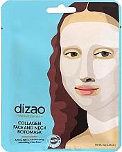 Parfémy, Parfumerie, kosmetika Boto maska na obličej a krk Kolagen - Dizao Collagen Face & Neck Botomask