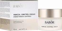 Parfémy, Parfumerie, kosmetika Krém-kontrola mimických vrásek - Babor Mimical Control Cream