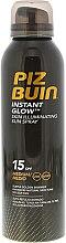 Parfémy, Parfumerie, kosmetika Sprej na opalování s lesklým efektem - Piz Buin Instant Glow Skin Illuminating Sun Spray SPF15