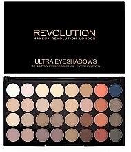Paleta očních stínů, 32 odstínů - Makeup Revolution Ultra 32 Shade Palette Flawless Matte 2 — foto N1