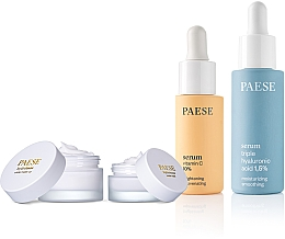 Parfémy, Parfumerie, kosmetika Sada - Paese (serum/15ml + serum/30ml + base/30ml + cr/15ml)
