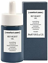 Parfémy, Parfumerie, kosmetika Noční výživný vitaminový olej na obličej - Comfort Zone Renight Nourishing Vitamin Oil