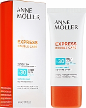 Parfémy, Parfumerie, kosmetika Ochranný fluid na obličej - Anne Moller Double Care Ultralight Facial Protection Fluid SPF30