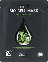 Parfémy, Parfumerie, kosmetika Bio celulózová maska s čajovníkovým extraktem - SNP Double Synergy Soothing Bio-Cell Mask
