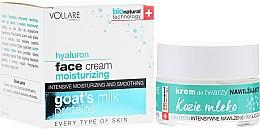 Parfémy, Parfumerie, kosmetika Hydratační krém na obličej s proteiny z kozího mléka - Vollare Cosmetics Hyaluron Moisturizing Face Cream