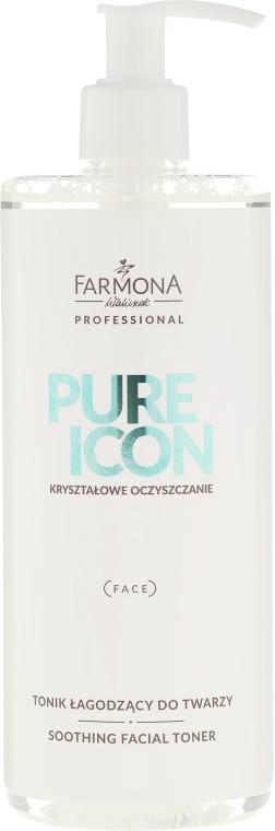 Zklidňující tonikum pro velmi citlivou pokožku - Farmona Professional Pure Icon Toner