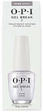 Parfémy, Parfumerie, kosmetika Podkladová báze na nehty - O.P.I Gel Break Serum Base Coat