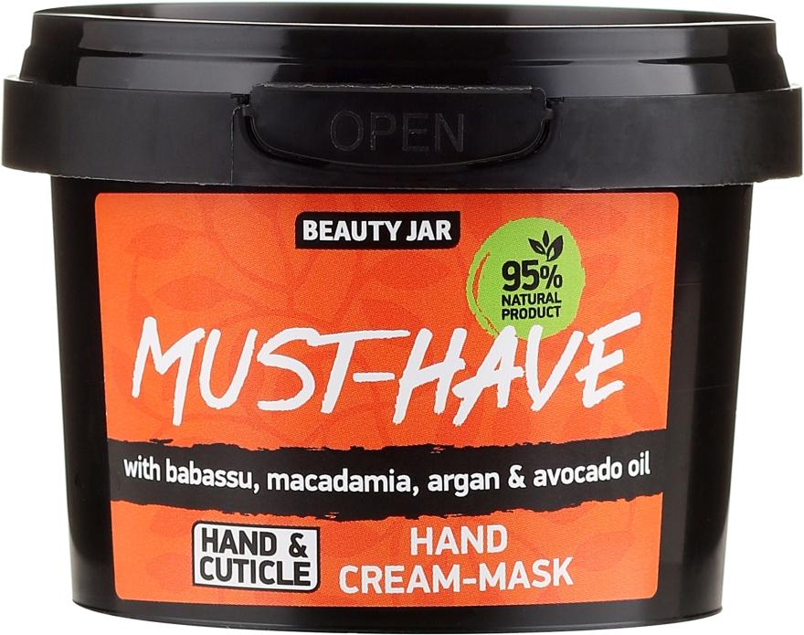 Krémová maska na ruce - Beauty Jar Must-Have Hand Cream-Mask