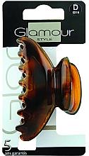 Parfémy, Parfumerie, kosmetika Spona do vlasů, 0216, hnědá - Glamour