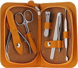 """Sada na manikúru """"Multi"""", MS-10, 6 dilná, oranžová - Staleks Manicure Set — foto N1"""