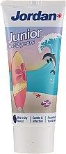 Parfémy, Parfumerie, kosmetika Zubní pasta pro děti od 6 do 12 let, delfín - Jordan Junior Toothpaste