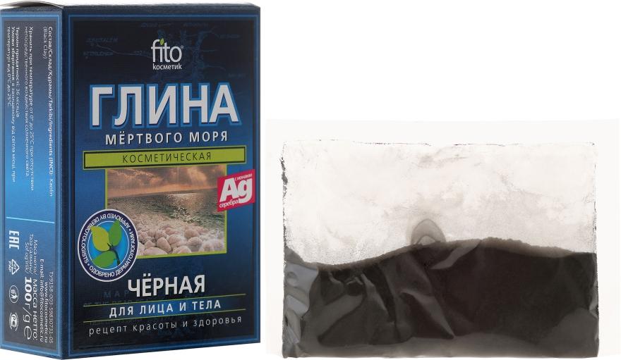 Černá hlína Mrtvého moře pro obličej i tělo Fito Kosmetik - Fito Kosmetik