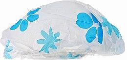 Parfémy, Parfumerie, kosmetika Sprchová čepice, 9298, bílo-modrá - Donegal Shower Cap
