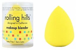Parfémy, Parfumerie, kosmetika Houbička na make-up, žlutá - Rolling Hills Makeup Blender Dark Yellow