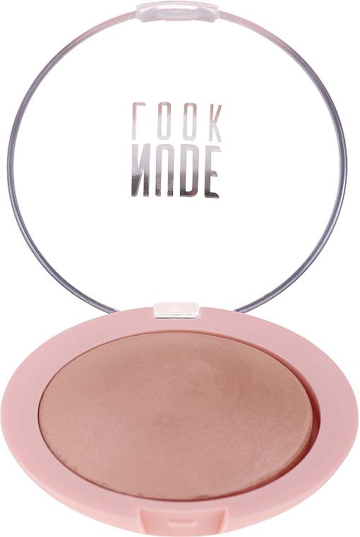 Pudr na obličej - Golden Rose Nude Look Sheer Baked Powder