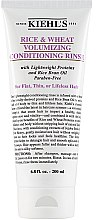 Parfémy, Parfumerie, kosmetika Kondicionér pro objem vlasů s extraktem z rýže a pšenice - Kiehl's Rice & Wheat Volumizing Conditioning Rinse