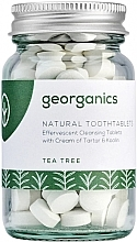 "Parfémy, Parfumerie, kosmetika Tablety pro čištění zubů ""Čajový strom"" - Georganics Natural Toothtablets Tea Tree"